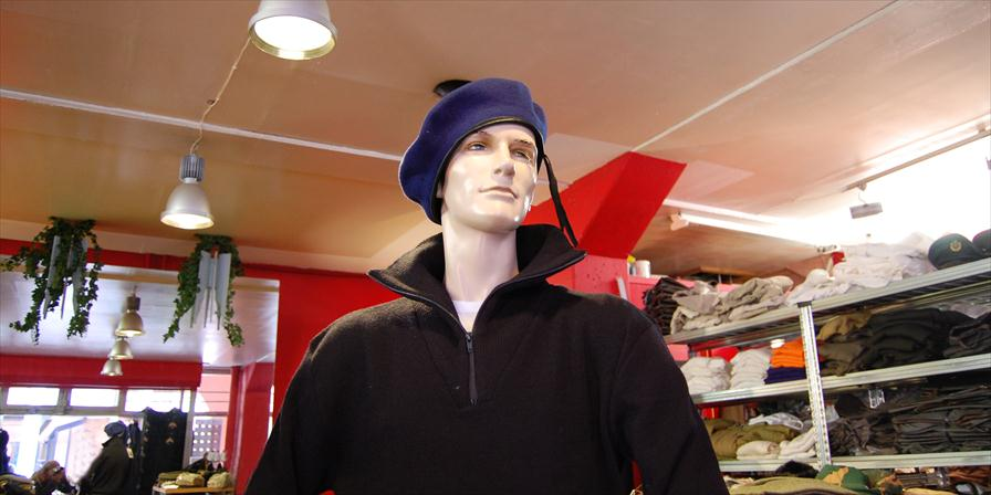 winkelen amsterdam bis army