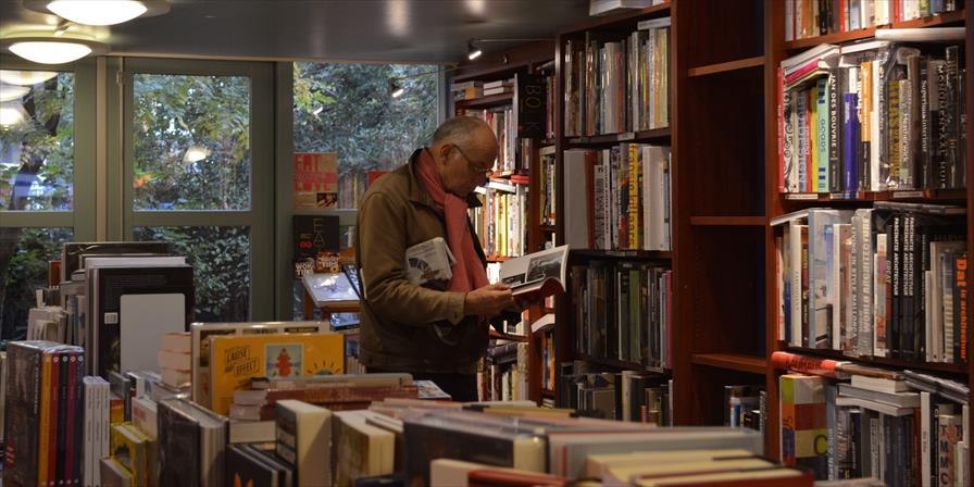 winkelen amsterdam boekhandel van rossum beethovenstraat