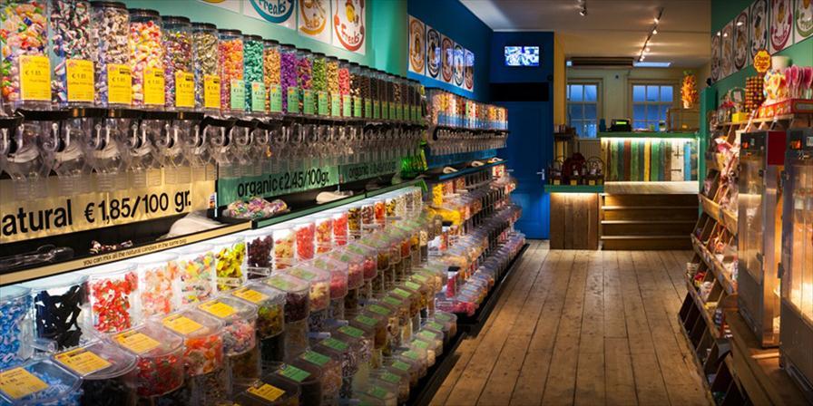 amerikaanse snoepwinkel