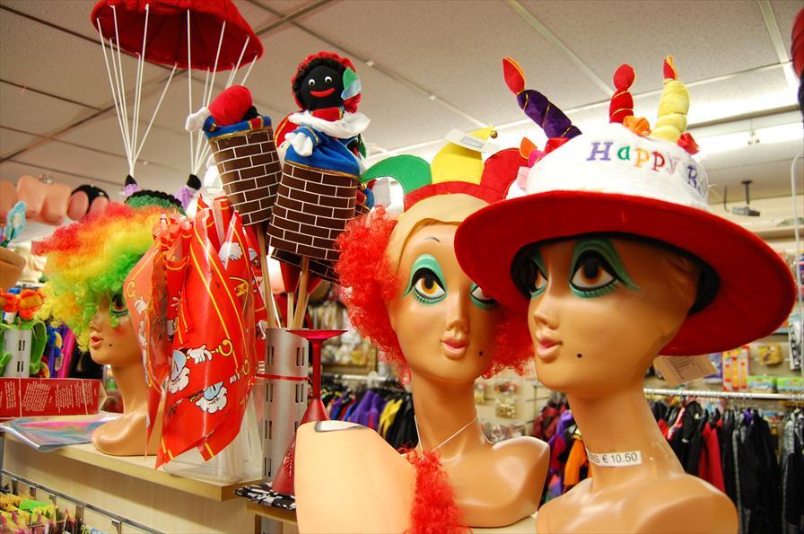 winkelen amsterdam dam feestartikelen
