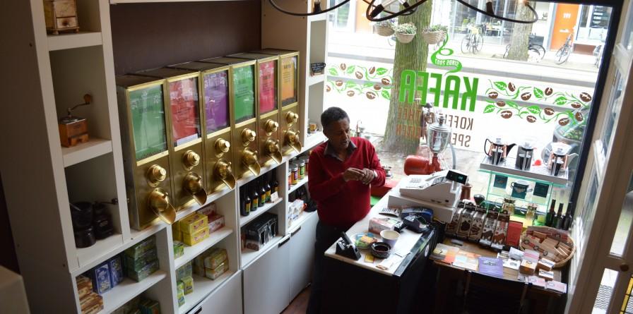 winkelen amsterdam kaffa koffie