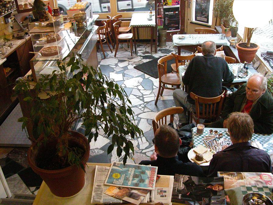 winkelen amsterdam koffiehuis de hoek