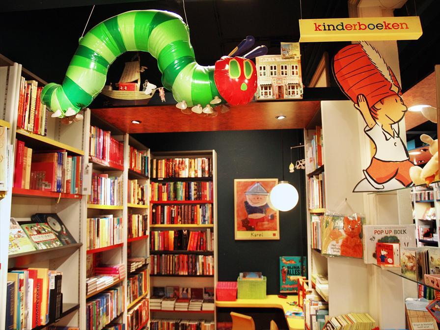 winkelen amsterdam linnaeus boekhandel
