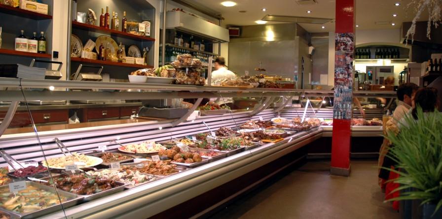 winkelen amsterdam traiteur en brasserie van dam