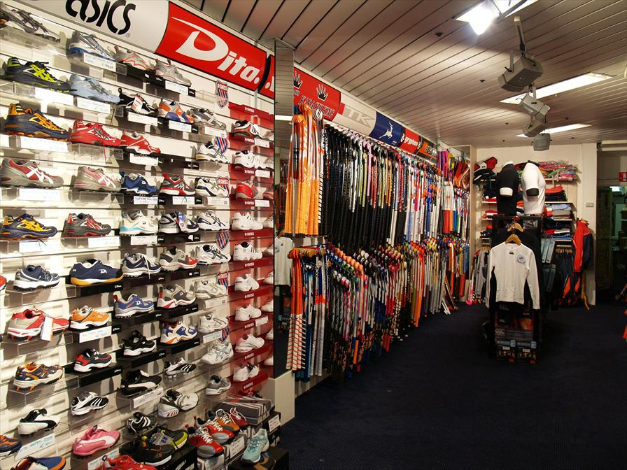 winkelen den haag dekker sport
