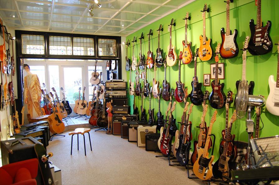 guitar chop shop music in den haag. Black Bedroom Furniture Sets. Home Design Ideas