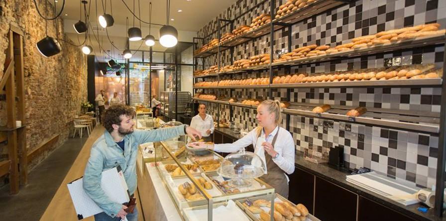 Bakkerij blanche brood banket in groningen for Interieur winkel den haag