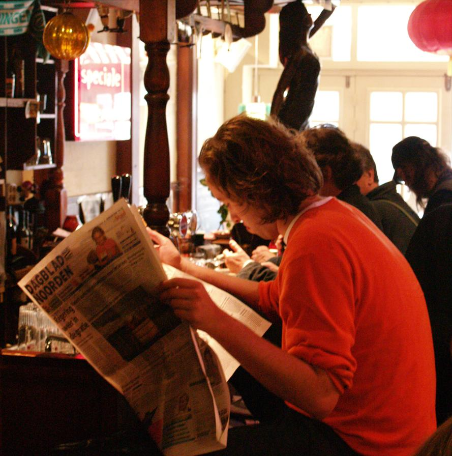 winkelen groningen cafe atlantis