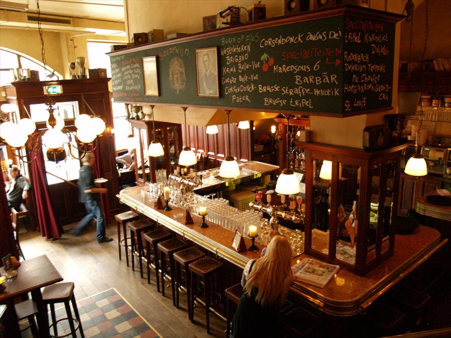 winkelen rotterdam belgisch biercafe boudewijn