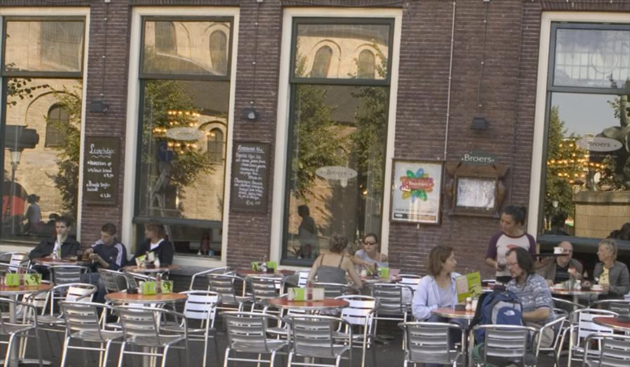 winkelen utrecht broers stadscafe restaurant